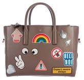 Anya Hindmarch All-Over Sticker Featherweight Ebury Bag
