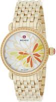 Michele Women's Garden Party Diamond Watch