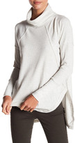 Sweet Romeo Thermal Cowl Neck Pullover