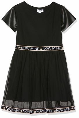 MEK Baby Girls Abito Tulle CON INSERTI Ecopelle Dress