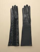 Agent Provocateur Leena Glove Long Black