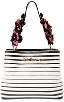 Betsey Johnson Head Shoulders Knees And Rose Bucket Bag
