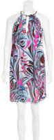 Emilio Pucci Paisley Print Sleeveless Dress