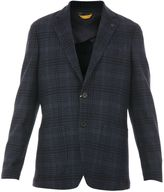 Canali Wool And Cotton Blend Jacket