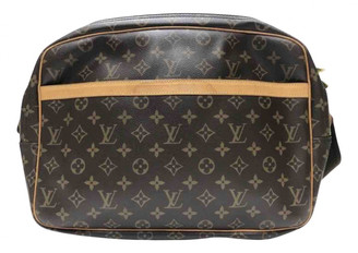 Louis Vuitton Reporter Brown Cloth Bags