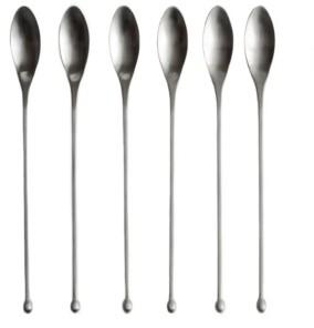 Knork Modern Iced Tea 6 Piece Spoon Set