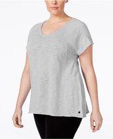 Calvin Klein Plus Size V-Neck T-Shirt