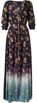 Marc Jacobs Victorian print maxi dress - women - Rayon/Cotton/Silk - 6