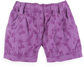 Pumpkin Patch All Over Embroidered Shorts