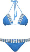 Anna Kosturova Seashore crochet bikini