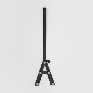 Burberry 'A' Studded Leather Alphabet Charm