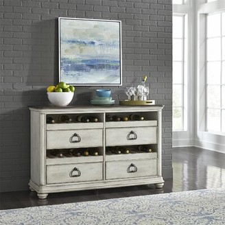 August Grove Gilbert Wine Sideboard