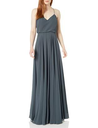 Jenny Yoo Women's Inesse V Neck Gown