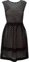 Fendi mesh dress - women - Silk/Polyamide/Polyester/Viscose - 40