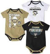 Reebok Baby Pittsburgh Penguins 3-pc. Bodysuit Set