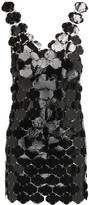 Paco Rabanne Sequin-Embellished Mini Dress