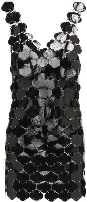 Paco Rabanne Sequin-Embellished Mini Dress