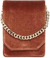 Bellows Velvet Shoulder Bag