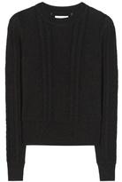Etoile Isabel Marant Isabel Marant, Étoile Kalyn Cotton And Wool Sweater
