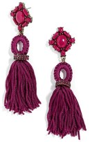 BaubleBar Women's Sohvi Tassel Drop Earrings