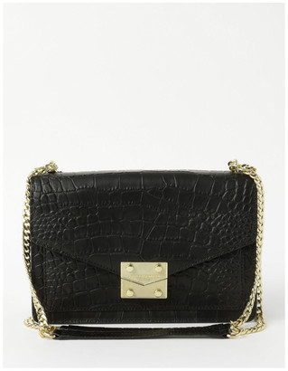 Karl Lagerfeld Paris Corinne Flap Over Shoulder Bag