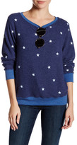 Wildfox Couture Football Star Pullover