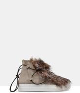 Daisy Faux Fur Ankle Boots