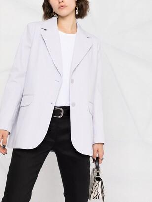 BA&SH Alea single-breasted blazer