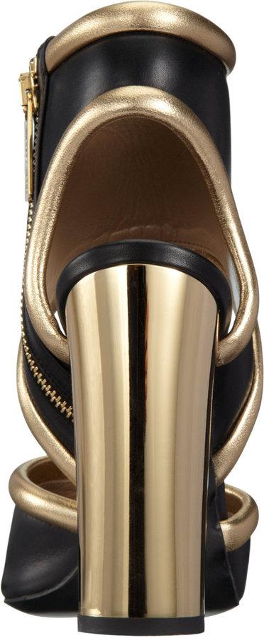 Michael Kors Metallic Trim Sandal