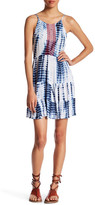 Romeo & Juliet Couture Tie-Dye Lace-Up Dress