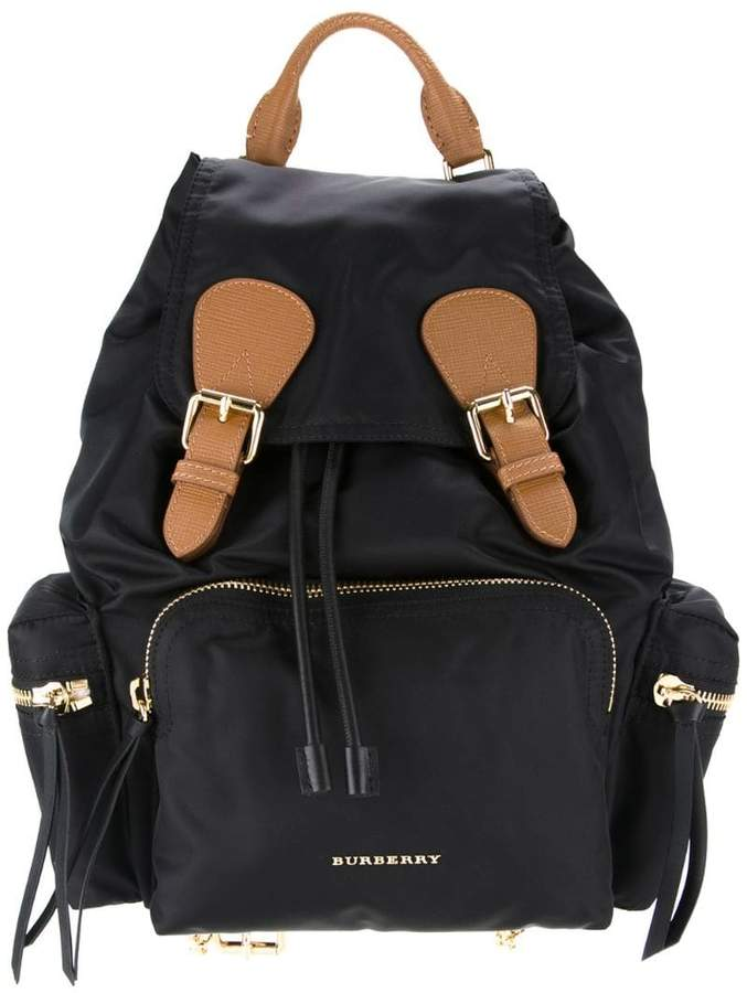 8dd9ee0cae24 Burberry Black Women s Backpacks - ShopStyle