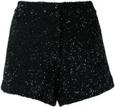 Manish Arora sequinned shorts - women - Nylon/Polyester - 36