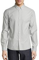 A.P.C. Embroidered Cotton Shirt