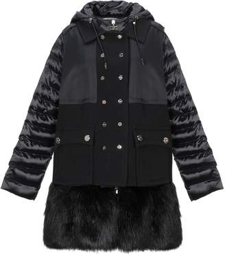 Elisabetta Franchi ICY Synthetic Down Jackets