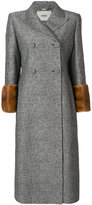 Fendi tailored fitted coat