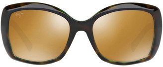Maui Jim MJ H735 397919 Polarised Sunglasses Tortoise