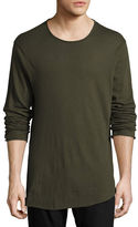 Rag & Bone Hartley Long-Sleeve Linen T-Shirt