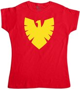 Refugeek Tees Womens Superhero T Shirt - Phoenix Symbol