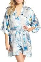 Christine Lingerie Short Silk Robe