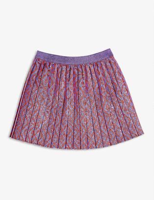 Gucci Lurex logo mini skirt 6-12 years