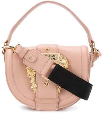 Versace buckle-flap mini shoulder bag