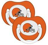 Baby Fanatic Cleveland Browns Baby Pacifiers - NFL BPA Free Pacifier