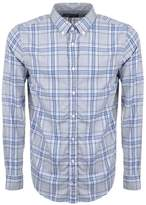 Tommy Hilfiger Reza Check Shirt Grey