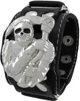 Things2Die4 Vinyl Grim Reaper Wristband with Eyes