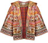 Camilla Quilted Printed Cotton Hooded Jacket