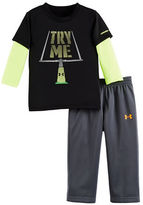 Under Armour Baby Boys Two-Piece Long Sleeve Tee and Pants Set