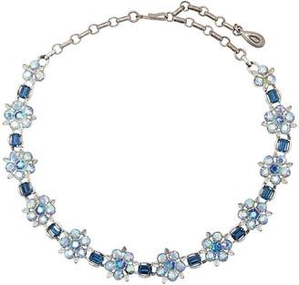Susan Caplan Vintage 1950's Lisner floral necklace