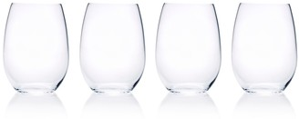 Mikasa Julie 4-pc. Stemless Wine Glass Set