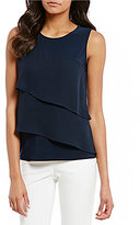 Preston & York Nikita Boat Neck Tiered Top