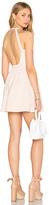 "Susana Monaco Backless Fit & Flare 16"" Dress"
